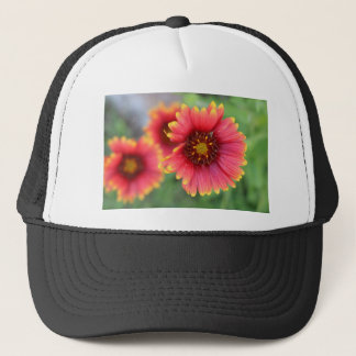 Floración pinta 2 de la primavera gorra de camionero