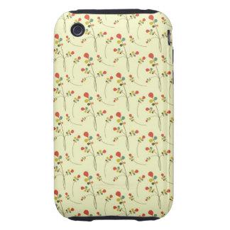 Floraciones 2 de la primavera tough iPhone 3 coberturas