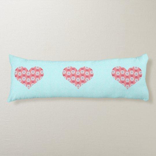 Floraciones del amor en mi almohada azul del