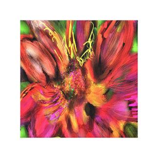 Floraciones Impresión En Lienzo
