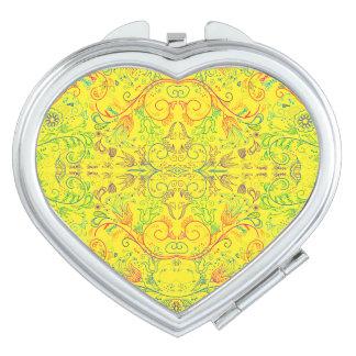 Floradore - amarillo espejos compactos