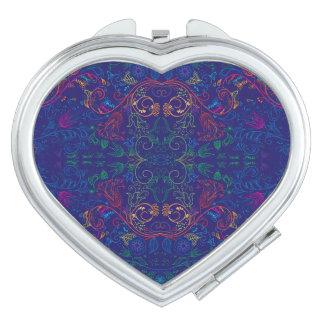 Floradore - azul espejos para el bolso
