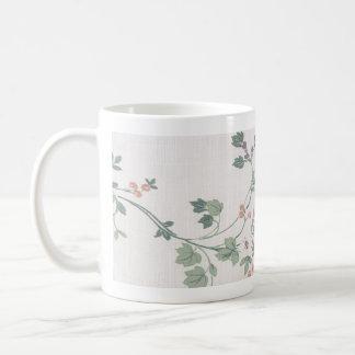 Floral clásico taza de café
