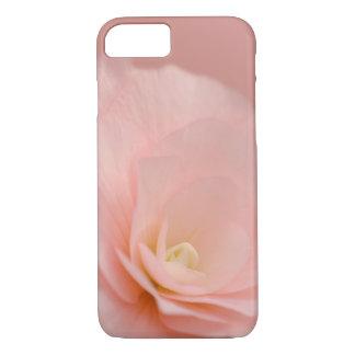 Floral color de rosa rosado funda iPhone 7