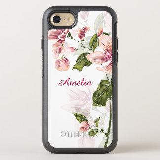 Floral femenino elegante funda OtterBox symmetry para iPhone 7