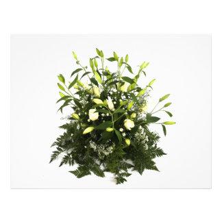 floral tarjetón