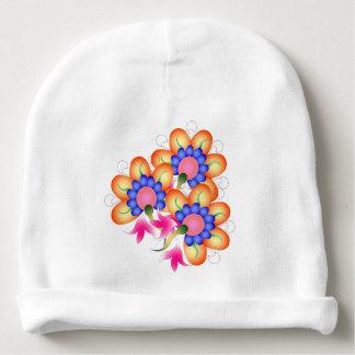 Floral Gorrito Para Bebe