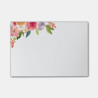 Floral Notas Post-it®