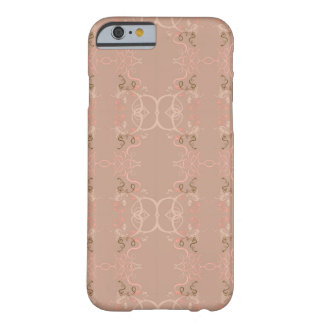 Floral rosa funda para iPhone 6 barely there