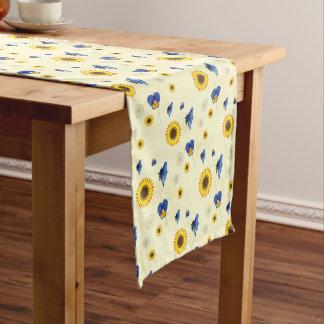 floral soleado camino de mesa