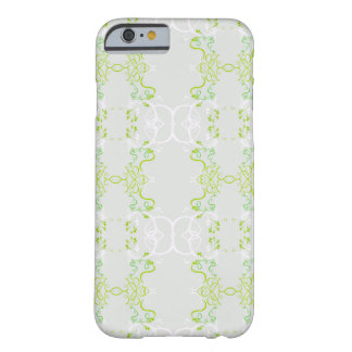 Floral verde funda de iPhone 6 barely there
