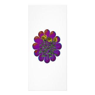 Florecimiento de las flores diseños de tarjetas publicitarias