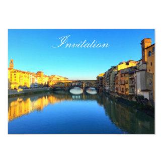 Florencia - Ponte Vecchio Invitación 12,7 X 17,8 Cm