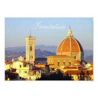 Florencia - Santa María del Fiore Invitación 12,7 X 17,8 Cm