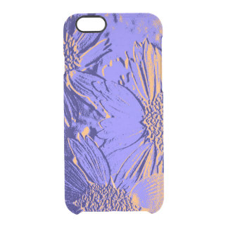 Flores 2 del extracto funda transparente para iPhone 6/6s