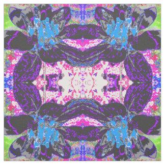 Flores abstractas del modelo de la dalia telas