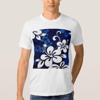 Flores azules de Hawaii Camiseta