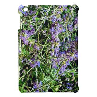 Flores botánicas de la lavanda púrpura