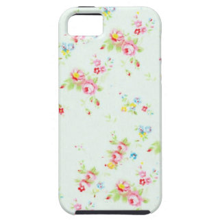 Flores color de rosa lamentables florales elegante iPhone 5 protector