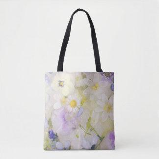 Flores congeladas bolsa de tela