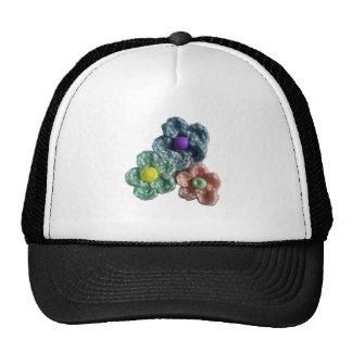 Flores Crocheted Haekel Blumen Gorras De Camionero