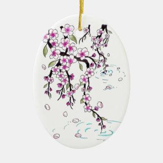 Flores de cerezo ornamentos para reyes magos