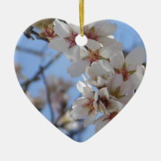 Flores de cerezo adorno de navidad