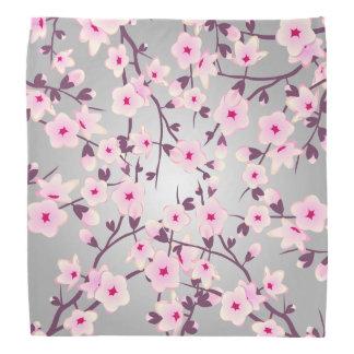 Flores de cerezo florales bandanas