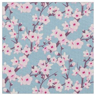 Flores de cerezo florales tela