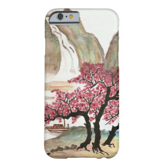 Flores de cerezo funda de iPhone 6 barely there