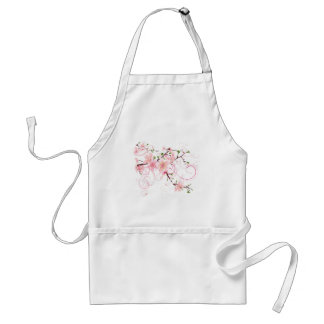 Flores de cerezo hermosas delantal