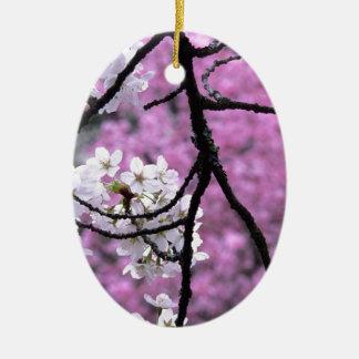 Flores de cerezo japonesas ornatos