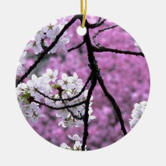 Flores de cerezo japonesas ornamento de reyes magos