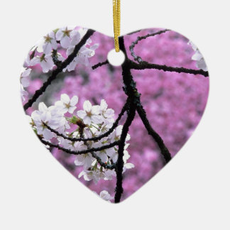 Flores de cerezo japonesas ornamentos de navidad
