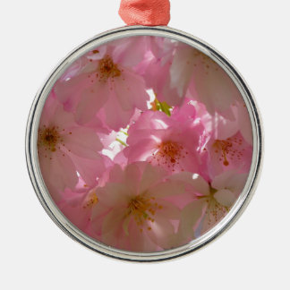 Flores de cerezo ornamento de navidad