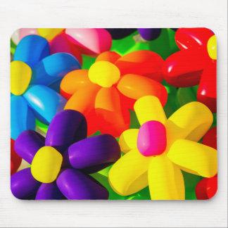 Flores de globo del juguete alfombrilla de ratón