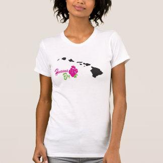 Flores de Hawaii Camisetas