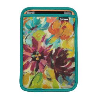 Flores de la alegría del otoño funda para iPad mini