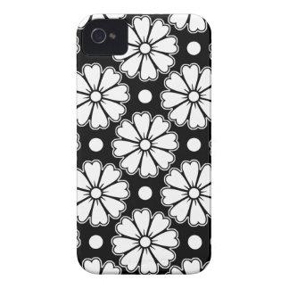Flores de la diversión Case-Mate iPhone 4 funda
