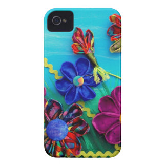 Flores de la diversión iPhone 4 carcasas