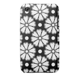 Flores de la diversión iPhone 3 funda
