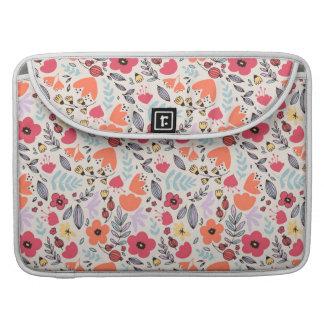 Flores de la fantasía funda para MacBook pro