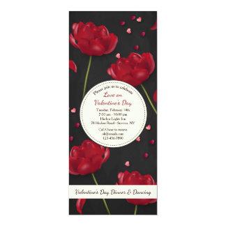 Flores de la invitación del amor