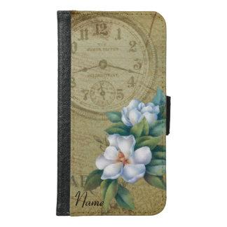 Flores de la magnolia del vintage carteras