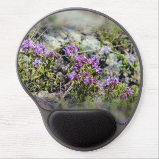 Flores de la montaña alfombrilla gel