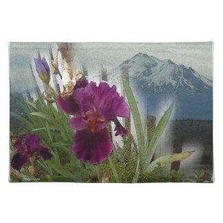 Flores de la montaña salvamanteles
