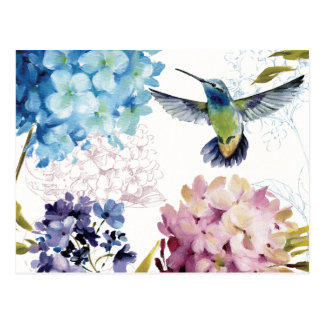 Flores de la primavera postal