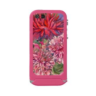 flores de las dalias carcasa de iphone 5 incipio atlas id