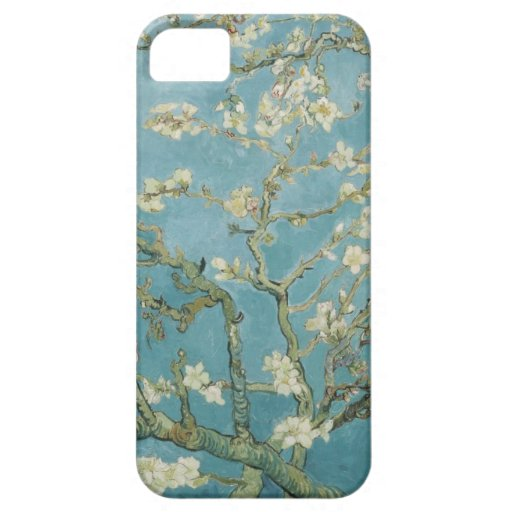Flores de los árboles del parque de las ramas de l iPhone 5 coberturas