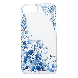 Flores de los azules marinos funda iPhone 7